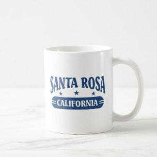 Santa Rosa California Basic White Mug