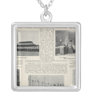 Santa Rosa, California Silver Plated Necklace