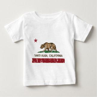 santa rosa california state flag tshirt