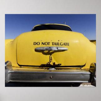 Santa Rosa, New Mexico,United States. Old Yello 2 Poster