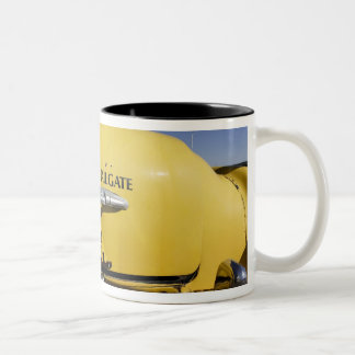Santa Rosa, New Mexico,United States. Old Yello 2 Two-Tone Coffee Mug