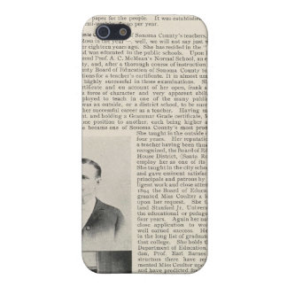 Santa Rosa Offices Minnie Coulter, California iPhone 5 Cases