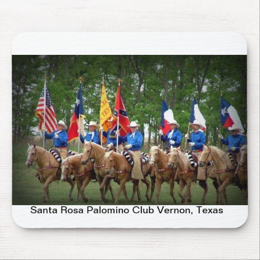 Santa Rosa Palomino Club Vernon, Texas Mouse Pad