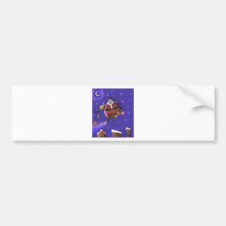 Santa & Rudolph Bumper Stickers