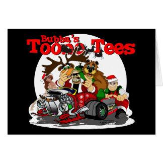 Santa s Biker Helper Bubba Claus Card