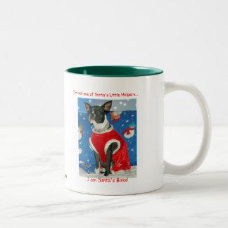 Santa's Boss Mug