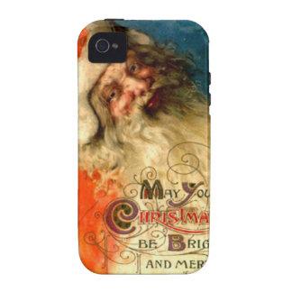 Santa s Christmas greetings Vibe iPhone 4 Case
