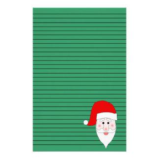 Santa s Face Stationery