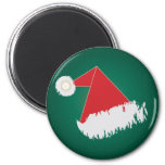 Santa 's hat refrigerator magnet