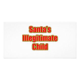 Santa s Illegitimate Child Photo Card