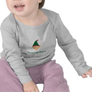 Santa s little helper Elf Christmas gifts tees