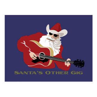 Santa s Other Gig Postcards