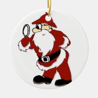 SANTA S SECRET HELPER CHRISTMAS ORNAMENT