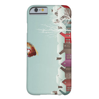 Santa's Sleigh Barely There iPhone 6 Case
