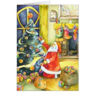 Santa s Special Christmas Cute Holiday Greetings Greeting Cards