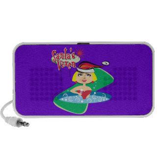 Santa s Vixen iPod Speaker