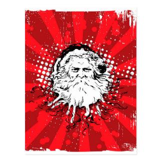 Santa says Merry Christmas Post Card