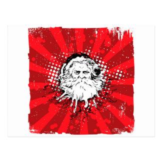 Santa says Merry Christmas Postcard