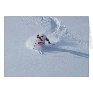 Santa Skiing at Snowbird Ski Resort, Wasatch Card