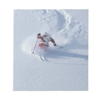 Santa Skiing at Snowbird Ski Resort, Wasatch Notepad