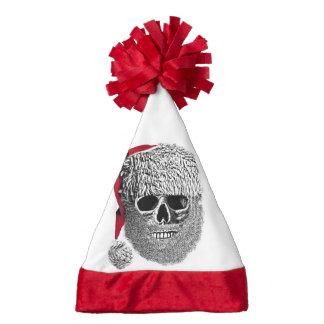 Santa skull santa hat