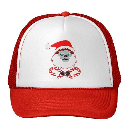 Santa Skull Mesh Hat