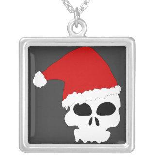 Santa Skull Pendants