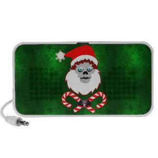 Santa Skull Travel Speaker
