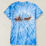 Santa, Sleigh, Angels & Reindeer T-Shirt