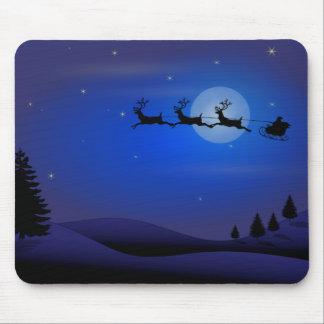 Santa Sleigh Mousepad