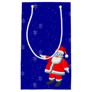 Santa Snow Gift Bag