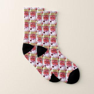 Santa Socks!! 1