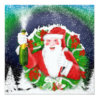 santa, Southern Lights and snowing invitations