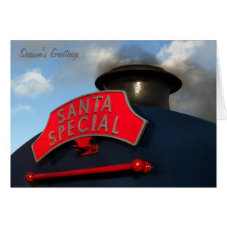 Santa Special Christmas Card