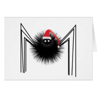 Santa Spider Card