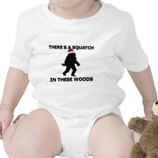 Santa Squatch T Shirts