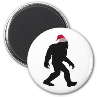 Santa Squatch The Original Bigfoot Santa Fridge Magnet