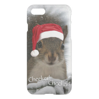 Santa Squirrel™ is Coming to Town for Christmas iPhone 8/7 Case