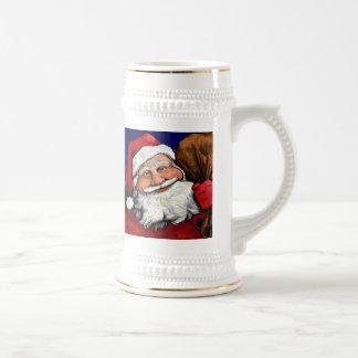 Santa Stien Beer Steins