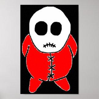 Santa stitch posters