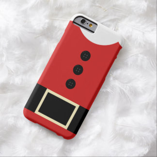 Santa suit christmas iPhone Barely There iPhone 6 Case