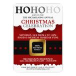 Santa Suit Christmas Party Invitations