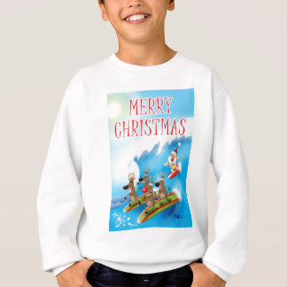 Santa Surfin' Sweatshirt