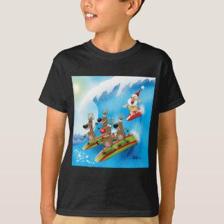Santa Surfin' T-Shirt