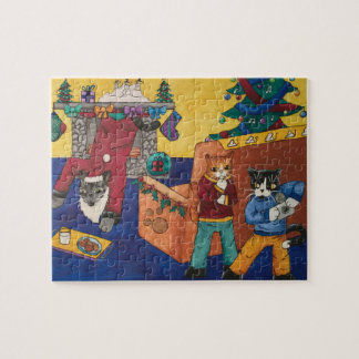 Santa Surprise Jigsaw Puzzle