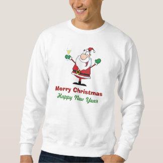 Santa Sweatshirt with Champaigne
