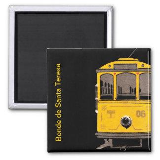 Santa Teresa streetcar Magnet