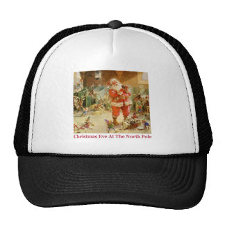 Santa & The Elves in The North Pole Stables Cap