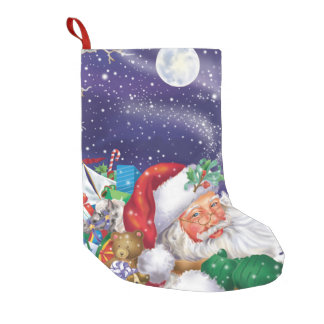 Santa Toy Delivery Stocking