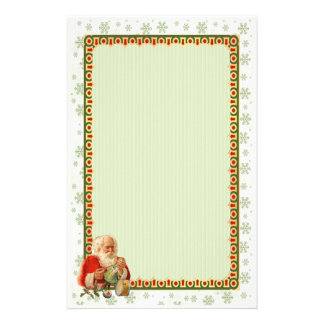 Santa Toy Maker Stationery